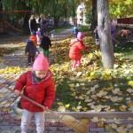 Grabienie liści (3)
