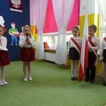 Święto Flagi - uroxzystość w przedszkolu (1)