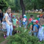Zwiedzanie ścieżki edukacyjnej w PM 4 (5)