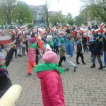 Święto Flagi i Tańców Narodowych na rynku dębickim (1)