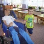 Spotkanie z niepełnosprawnym chłopcem (1)