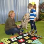 Spotkanie  dogoterapeutą i psem (1)